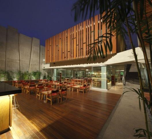 Blog para profesionales for Planos de restaurantes modernos