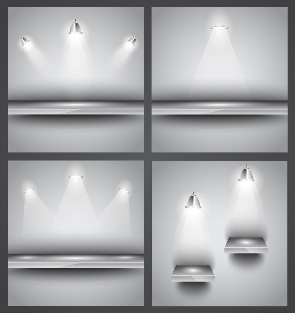 Manejo de la luz para iluminar objetos específicos