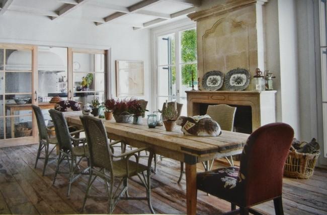 popular en una amplia variedad de estilos este material es para crear estancias rsticas en el caso del comedor te sugerimos agregar mesas