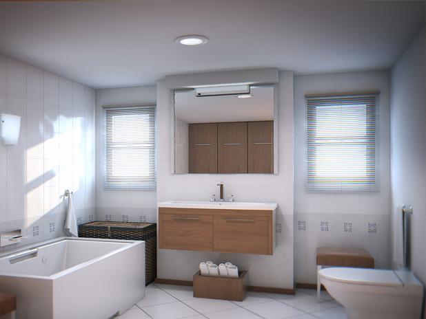 Tendencias y consejos de iluminaci n para el hogar for Plafones led pared bano