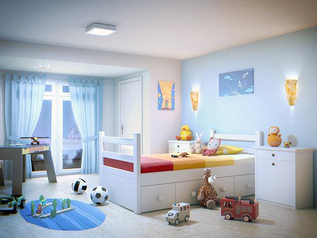 Tendencias y consejos de iluminaci n para el hogar - Lamparas para habitaciones infantiles ...