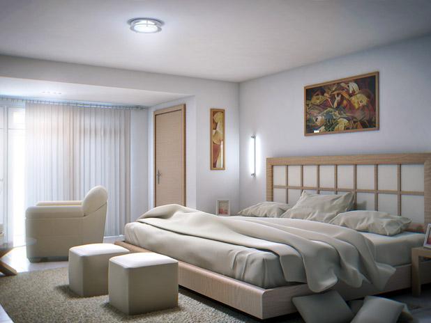 Tendencias y consejos de iluminaci n para el hogar for Plafones pared dormitorio