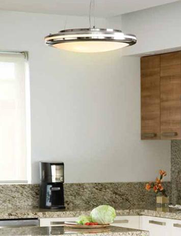 Tendencias y consejos de iluminaci n para el hogar - Luminarias para cocinas ...