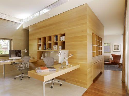Lamparas Para Baño Tecnolite:Home Office Wood Wall Interior