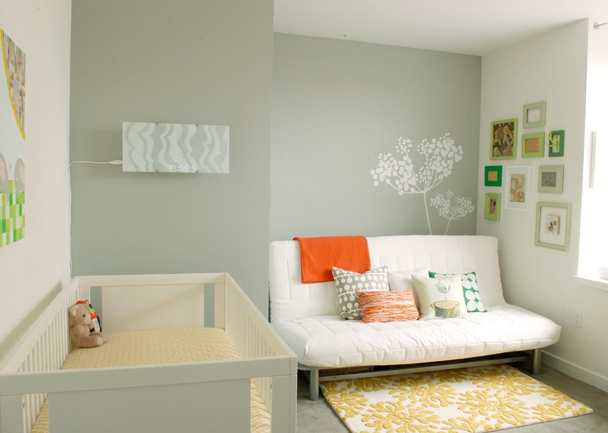 Iluminacion Baño Consejos:Modern Baby Nursery Room Ideas
