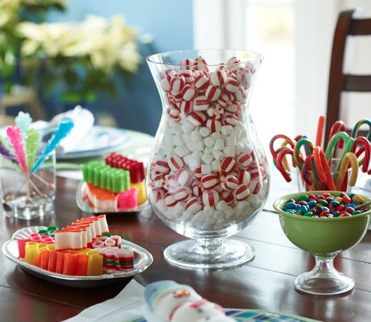 Decoracion Jarrones Para Navidad ~ ideas de decoraci?n para la cena de Navidad