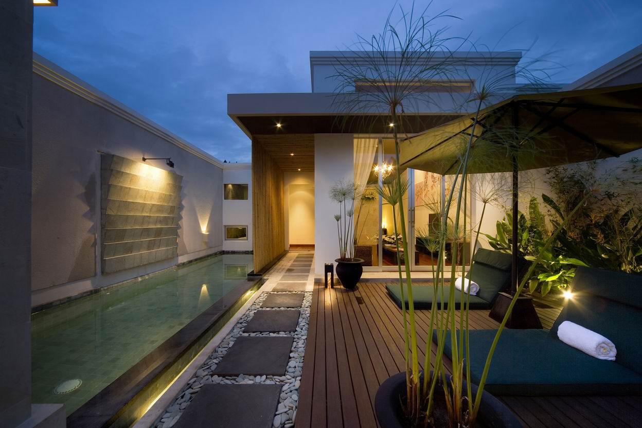Tendencias y consejos de iluminaci n para el hogar for Iluminacion arboles jardin