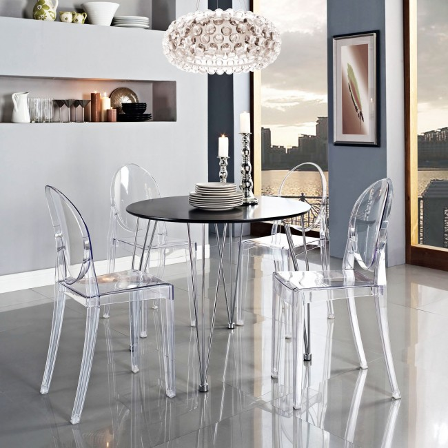 Tendencias y consejos de iluminaci n para el hogar for Sillas transparentes