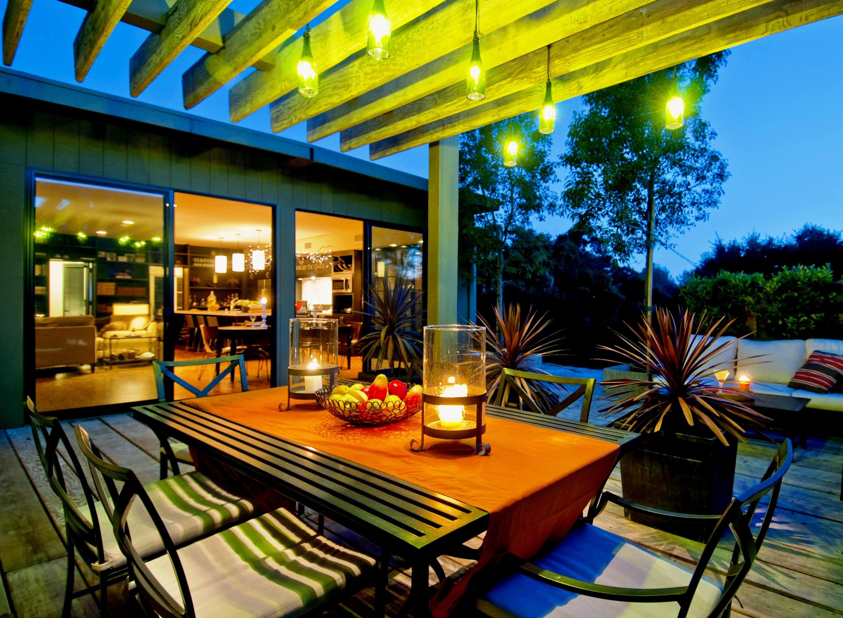 Tendencias y consejos de iluminaci n para el hogar - Iluminacion de terrazas exteriores ...