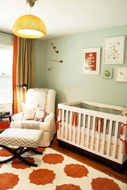 Iluminacion Baño Consejos:Orange Baby Nursery
