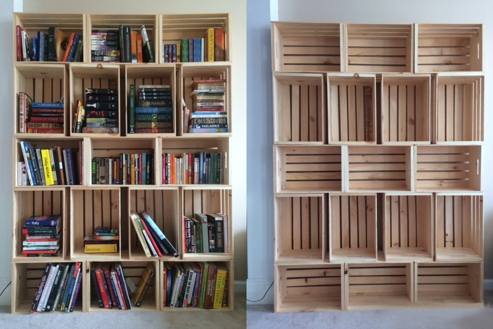 Ideas originales libreros for Libreros originales
