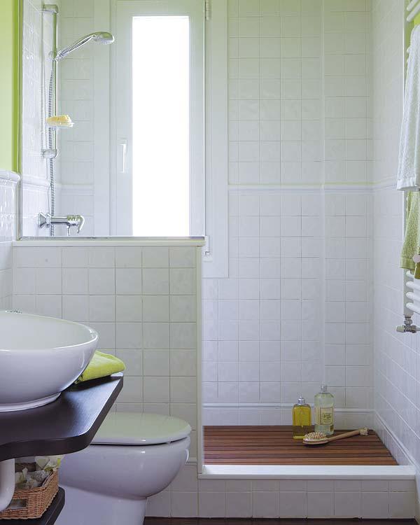 Tendencias y consejos de iluminaci n para el hogar - Duchas con muro ...