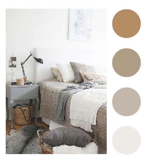 Tendencias y consejos de iluminaci n para el hogar - Paleta de colores neutros ...