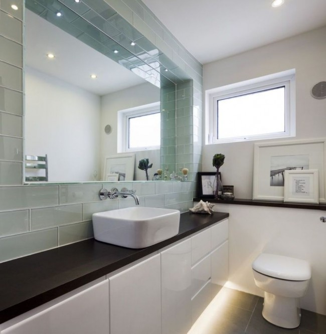 bathroom-shocking-decorating-ideas-using-rectangular-white-sinks-and-rectangular-mirrors-also-with-white-toilets-and-strips-light-heavenly-images-of-white-bathroom-cabin