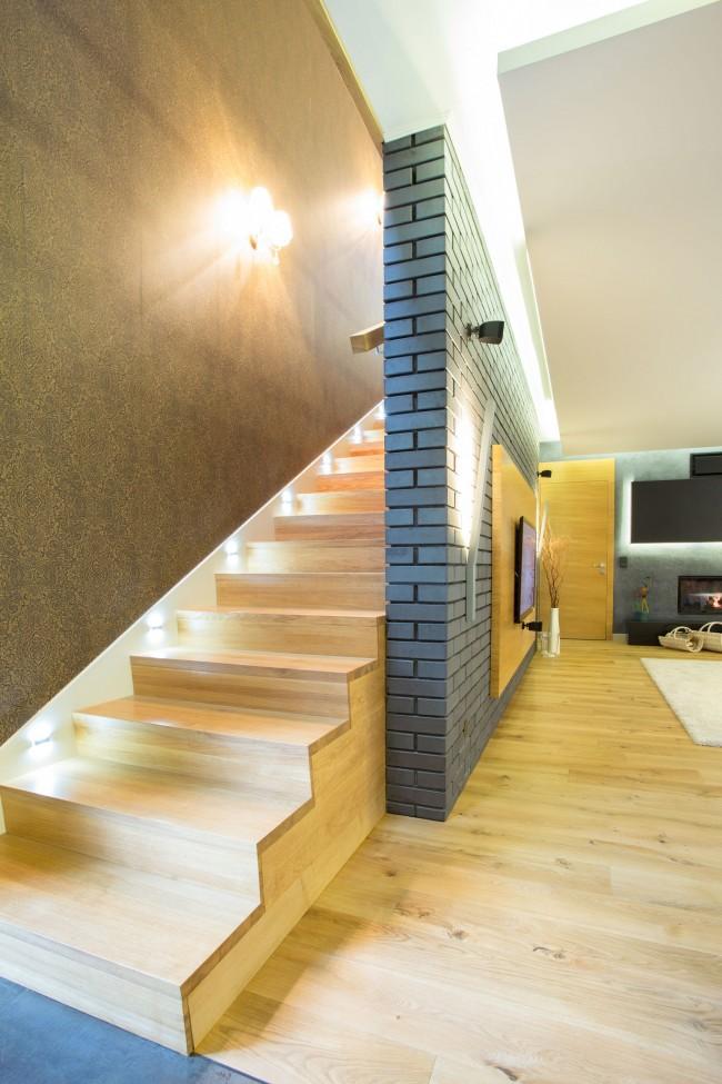 Tendencias y consejos de iluminaci n para el hogar - Iluminacion de escaleras ...