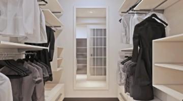 La luz adecuada para tu vestidor.