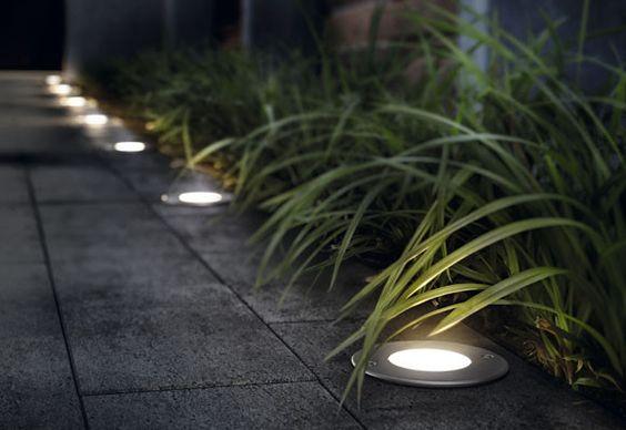 Tendencias y consejos de iluminaci n para el hogar for Luces empotradas jardin