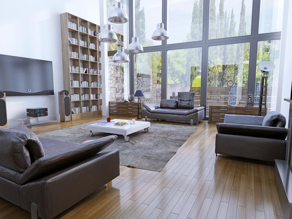 Tendencias y consejos de iluminaci n para el hogar - Lamparas para techos altos ...