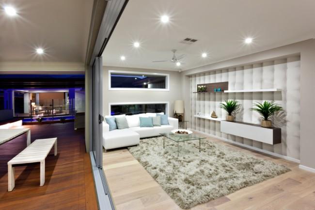 Iluminación y comodidad en habitaciones oscuras