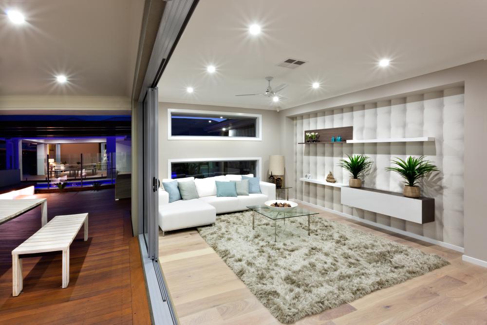 Tendencias y consejos de iluminaci n para el hogar for Fotos de living modernos