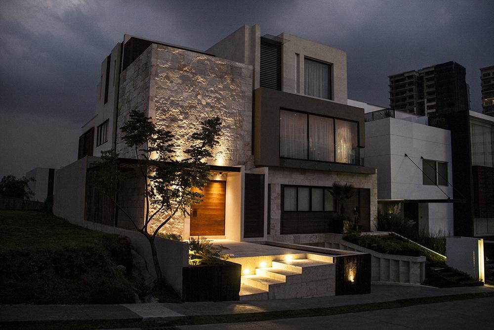 Tendencias y consejos de iluminaci n para el hogar - Luces de pared exterior ...