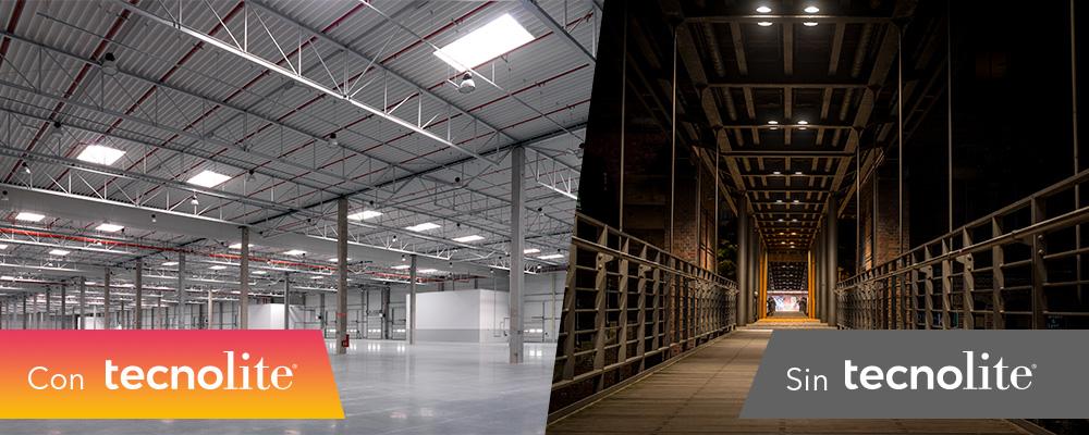 Comparativa luz LED vs luz fluorescente