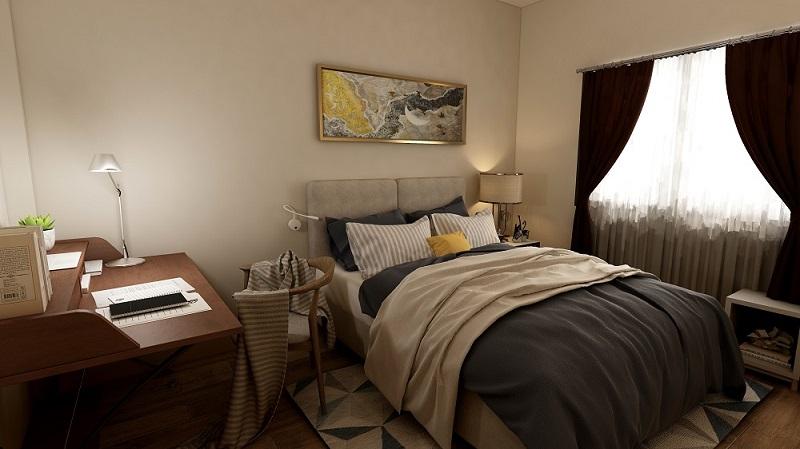 Habitación iluminación agradable